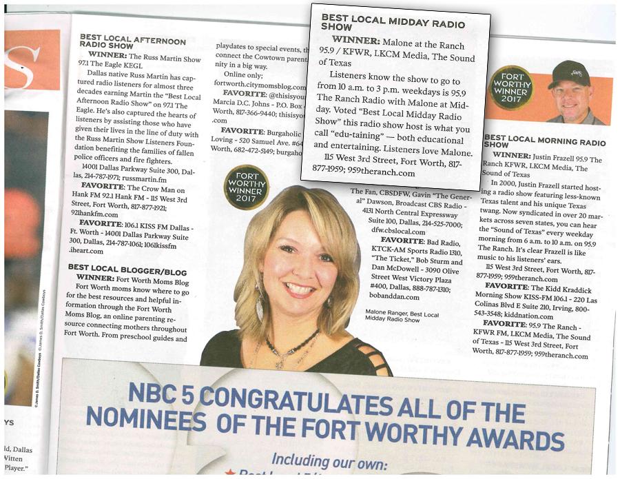 Inside Fort Worthy Magazine