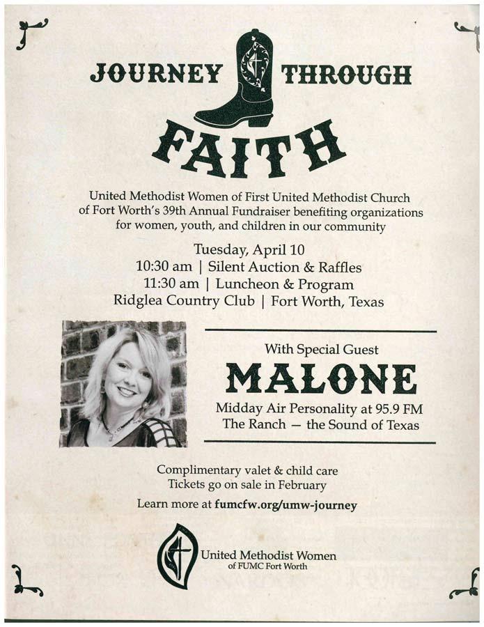 Inside Fort Worth Magazine Featuring Malone Ranger